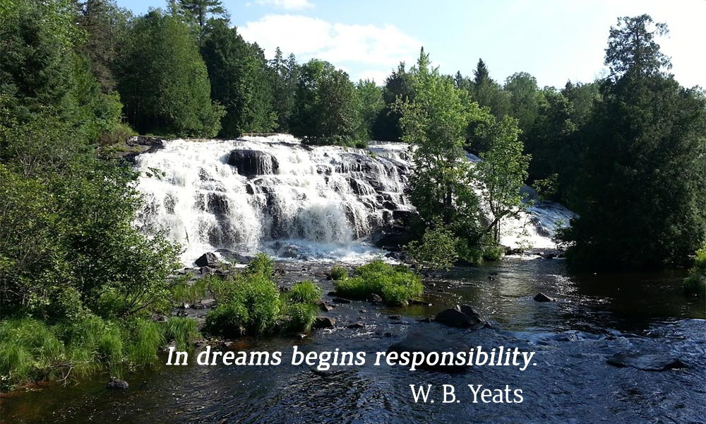 In dreams begins responsibility.