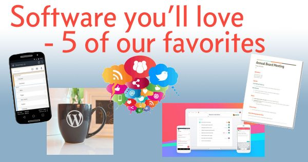 Software you'll love - 5 of our favorites